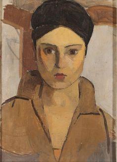 Hale Asaf (1905 – 1938) – Otoportre