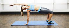 Tame Your Muffin Top With This Workout