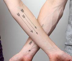 Tatuaggi freccia loro significato e migliori foto