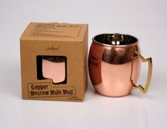 4a595194eaa6 Pure Copper Moscow Mule Mug 16 Oz by onlinejodhpuri on Etsy