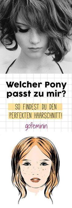 Schräg, kurz, dicht oder luftig - hier zeigen wir, welcher Pony am besten zu dir passt!