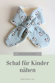 How to sew an easy scarf for kids Conseils Bébé ᐅ eBook: Schal für Kinder nähen Sewing Patterns For Kids, Sewing Projects For Beginners, Knitting For Beginners, Sewing For Kids, Free Sewing, Knitting Projects, Knitting Patterns, Sewing Hacks, Sewing Tutorials