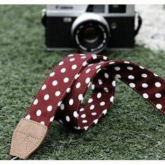 Bluecell AR-003 Red color Digital SLR Camera Neck Shoulder Straps Belt