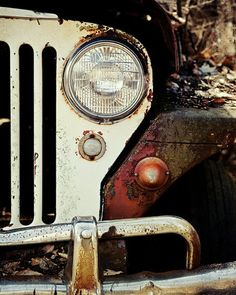 Vehicle of choice: 1950 Jeep Willy
