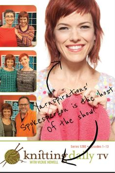 Knitting Daily TV with Vickie Howell, sponsored in part by @Yarnspirations