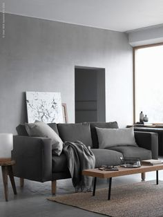 Shades of grey | IKEA NORSBORG sofa