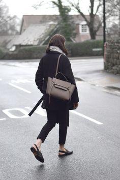 Celine Belt Bag Taupe