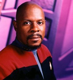 Star Trek: Deep Space Nine...Avery Franklin Brooks as Commander and later Captain Benjamin Sisko