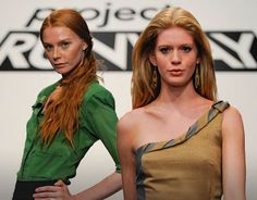 I don't know why but I love Project Runway!