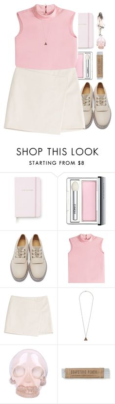 """""""*give me a break*"""" by my-black-wings ❤ liked on Polyvore featuring Kate Spade, Clinique, MM6 Maison Margiela, RED Valentino, Marc by Marc Jacobs, Topshop and Horace"""