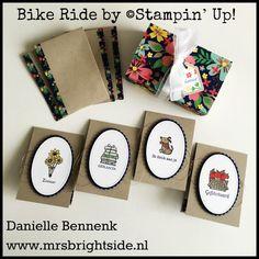 Bike Ride stamp set from Stampin' Up! mini-notecards-crumb-cake