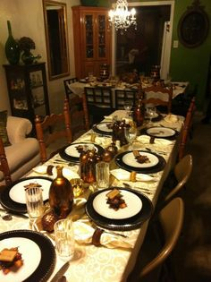 Time of thanksgiving with family and friends