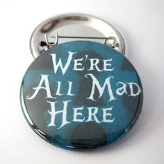 DIMENSION: 1 1/2 inches or 38mm. VARIATION: Pinback Button or Magnet - Handmade in the USA * Due to screen variation, your image color may appear slightly different on your computer screen. Actual ima