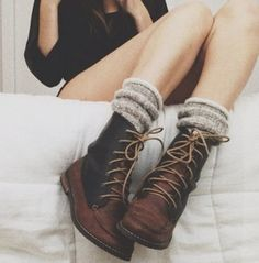 shoes boots combat boots rusty brown brown combat boots leather vintage vintage boots