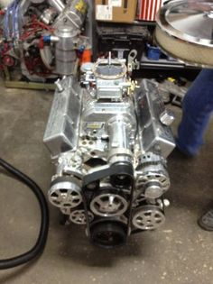 racing engine 383 small block chevy street rod