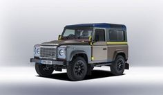 Paul Smith offers his own styling for Land Rover - so cool !