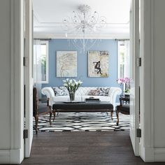 Looking for a modern trending look for your living room? Access our extensive image gallery featuring top modern living room designs to get inspired today. Living Room Styles, Living Room Modern, Living Room Interior, Home Interior, Modern Interior, Living Room Designs, Interior Design, Living Rooms, Interior Ideas