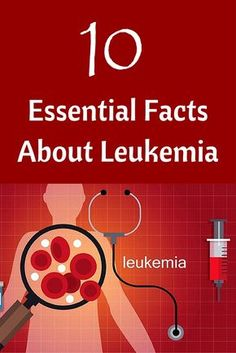 10 Essential Facts About Leukemia Advances in treatment options have turned some forms of these once-deadly blood cancers into manageable chronic conditions. Here's what you need to know about leukemia. There are four main types of Leukemia Symptoms, Cervical Cancer, Colon Cancer, Breast Cancer, Acute Myeloid Leukemia, Acute Lymphoblastic Leukemia, Healthy Habbits, Leukemia Awareness, Cancer Facts