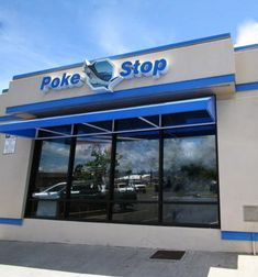 """Ever in Oahu, Hawaii...come to """"Poke Stop""""... best Poke on the Island!"""
