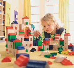 Little Amsterdam Wooden Building Blocks by Haba Wooden Building Blocks, Building Toys, Amsterdam, Blocks For Toddlers, Baby Learning Toys, Cool Toys For Girls, Eco Friendly Toys, Buy Lego, Baby Blocks