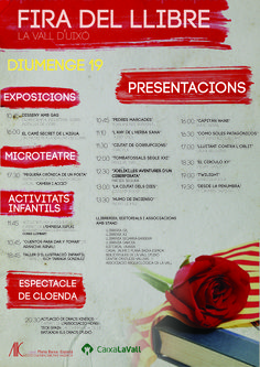 fira del llibre - La vall d'Uixó per: Acció Cultural de: miquel andrés