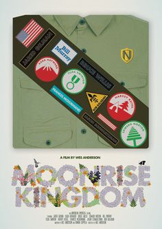 Moonrise Kingdom-inspired poster from Needle Design & Illustration (@Mike Lewis - awwww yeah!)
