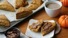 Pumpkin Scones and Cinnamon Butter (Stephanie Eddy for The Globe and Mail)