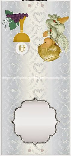 Marco para fotos de la primera comunion photo frames communion pinterest communion - Etiquetas comunion para imprimir en casa gratis ...