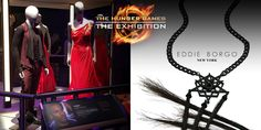 Exhibition Fact: @EddieBorgo provided accessories to complete this Capitol look at The #HungerGamesExhibition!