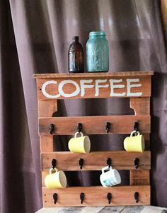 For all the coffee lovers out there! Dimensions 20x24.