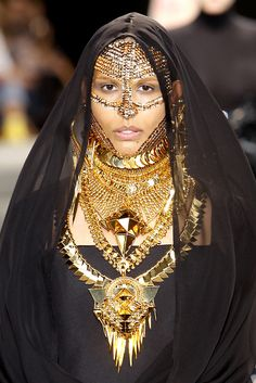 Givenchy Bedouin-inspired fashion