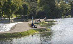 Alte Donau - Freizeitparadies in Wien Alter, Golf Courses, First Home, Playground, Paradise