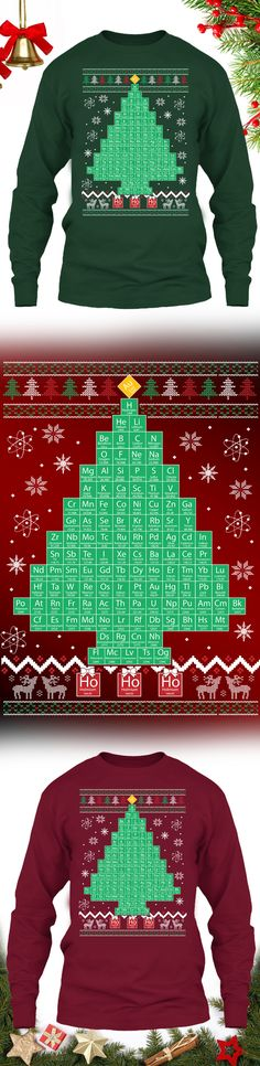Chemistree Christmas Sweater - Get this limited edition ugly Christmas Sweater just in time for the holidays! Buy 2 or more, save on shipping!