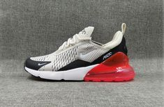 Spring Summer 2018 Official Nike Air Max 270 Latest Styles 2018 Running  Shoes Gray Black Red