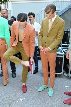 cute colors for menswear... lucuuukk... :)