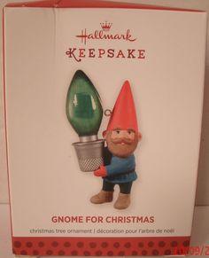 Hallmark Ornament 2013 Gnome for Christmas Holiday NEW NIB Tree Elf Decoration