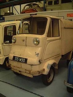 1962 Motobecane. They developed a small 4-wheel vehicle with a removable windscreen without doors and top. They used their own 125 cc engine, which was placed at the rear. This vehicle remained a prototype. At the beginning of the 60's they produced a 4-wheel vehicle with Italian style and Japanese mechanicals with rear-wheel drive and also the 125 cc, one-cylinder, two-stroke engine. These vehicles were only used for test and exhibitions.