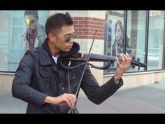AMAZING Street musician! (Epic Violinist Music Video) HD HE is AWESOME