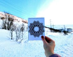 #drawing #mandala #pattern #creative #notebook #photo