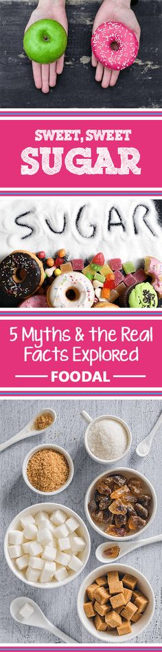 Do you know the truth about added sugar and artificial sweeteners? Or have the food manufacturers fooled you into believing these 5 myths? Learn about the disguises sugar may take in your foods, and discover ways to change your diet today that just may help to improve your health tomorrow. Read more now at http://foodal.com/knowledge/paleo/sweet-sugar-5-myths/
