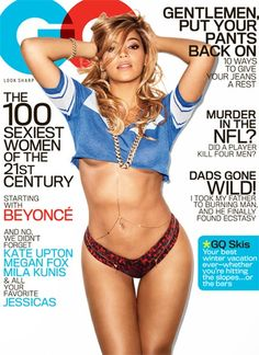Beyonce On The February Cover Of GQ Magazine ~ Looking Amazing