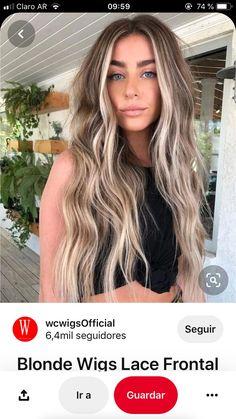 Dark Roots Blonde Hair Balayage, Balyage Long Hair, Blonde Hair With Roots, Brown Hair With Blonde Highlights, Blonde Hair Looks, Brunette Hair, Blonde Hair With Brown Roots, Blonde Hair Pieces, Gorgeous Hair Color