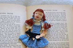 Dorothy and Toto crochet bookmark!!