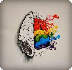 hemisferios cerebrales arte - Buscar con Google