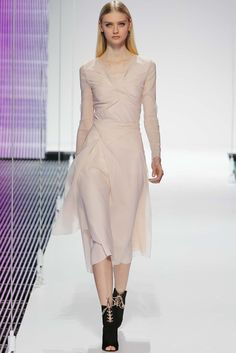 Christian Dior Resort 2015 Fashion Show - Nastya Kusakina