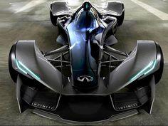 Infinity futuristic race car. [Futuristic Cars: http://futuristicnews.com/category/future-transportation/]