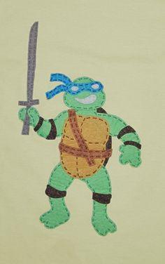 camiseta tortuga ninja