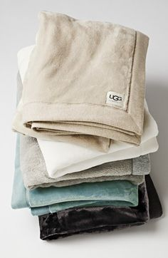 Free shipping and returns on UGG® Australia 'Duffield' Throw at Nordstrom.com. Crafted from a plush cotton blend, this ultra-soft blanket is just the thing for cozying up with a book or a cup of hot cocoa on a chilly night. The clean, versatile design makes it a perfectly homey addition to any space.