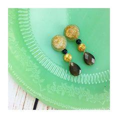 New season New earrings!  プチプライス「BAZAAR」より新作入荷しました♡  #lovestone #sedona #bazaar #newarrivals #spring #earrings #vintage #gemstone #bluetigereye #instajewelry #instadaily #ラブストー #セドナ #新作 #バザール #イヤリング #天然石アクセサリー #ブルータイガーアイ #金運 #ビンテージ #春 #love