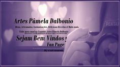 https://www.facebook.com/pages/Artes-P%C3%A2mela-Dalbonio/145402992283226 Sejam Bem vindos, aqui você encontra artesanatos, dicas, diy e culinárias, clique em curti para receber atualizações de novos videos assim que eu os enviar.
